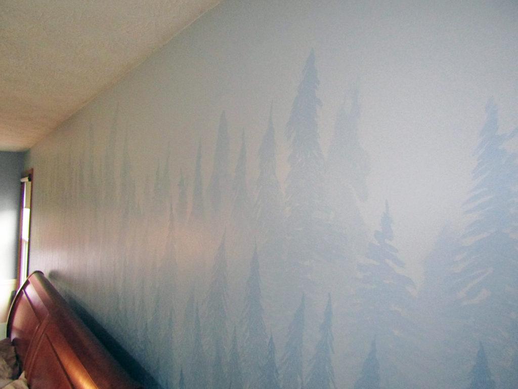 art mural for nature lover